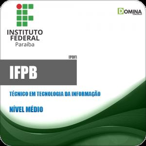 Apostila IFPB 2019 Técnico em Tecnologia da Informação