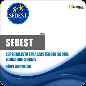 Apostila Concurso SEDEST DF 2019 Educador Social