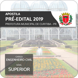 Apostila Pref Curitiba 2019 Engenheiro Civil (Pré-Edital)