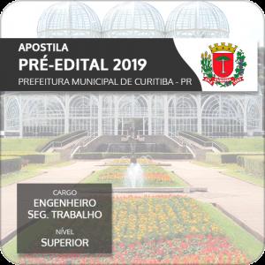 Apostila Curitiba 2019 Engenheiro de Segurança (Pré-Edital)
