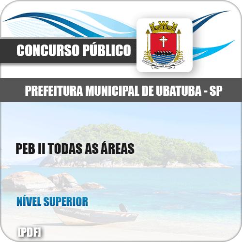 Apostila Concurso Ubatuba SP 2019 Professor PEB II