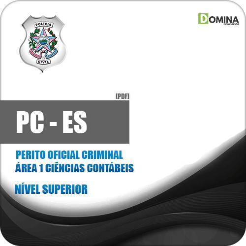 Apostila PC ES 2019 Perito Criminal Ciências Contábeis