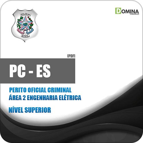 Apostila PC ES 2019 Perito Criminal Engenharia Elétrica