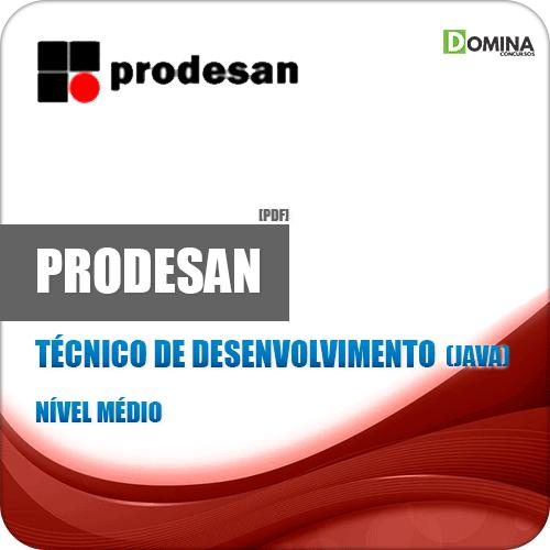 Apostila Concurso PRODESAN 2019 Técnico Aplicações Java