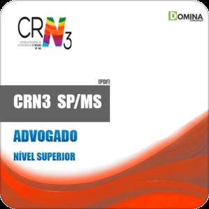Apostila Concurso CRN 3 SP MS 2019 Advogado