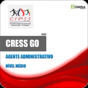 Apostila Concurso CRESS GO 2019 Agente Administrativo