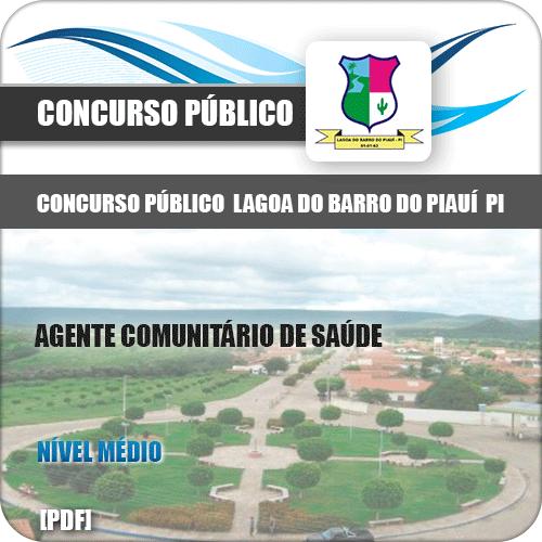 Apostila Lagoa do Barro do Piauí 2019 Agente Comunitário Saúde