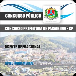 Apostila Concurso Pref Paraibuna SP Agente Operacional