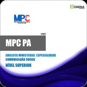 Apostila MPC PA 2019 Analista Ministerial Comunicação Social
