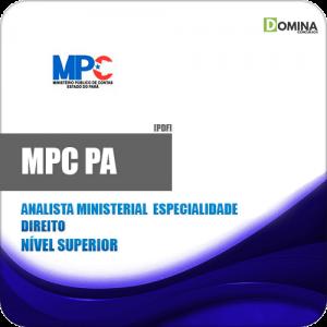 Apostila Concurso MPC PA 2019 Analista Ministerial Direito