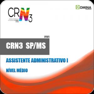 Apostila CRN 3 SP MS 2019 Assistente Administrativo