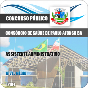 Apostila Paulo Afonso BA 2019 Assistente Administrativo