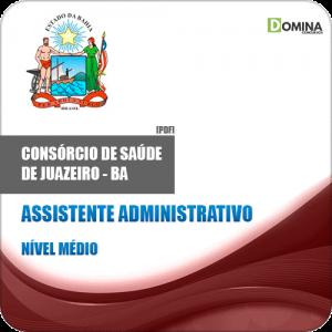 Apostila Policlínica Juazeiro BA 2019 Assistente Administrativo