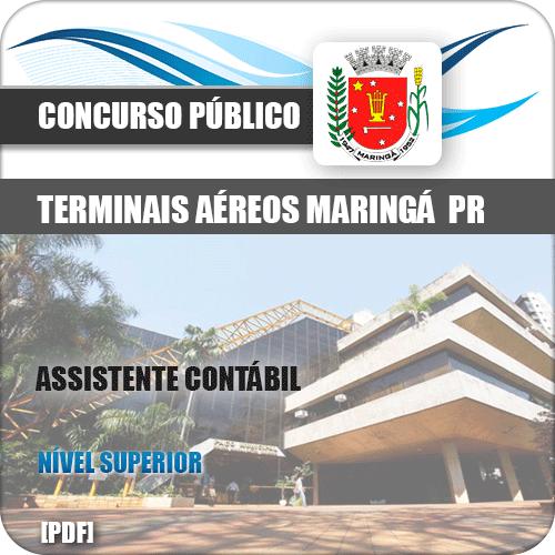 Apostila Concurso SBMG Maringá 2019 Assistente Contábil