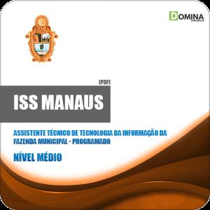 Apostila ISS Manaus 2019 Assistente Técnico TI Programador