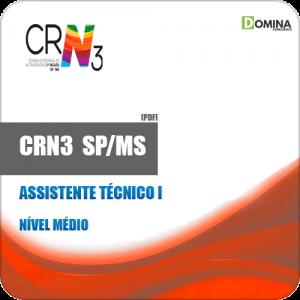 Apostila Concurso CRN 3 SP MS 2019 Assistente Técnico I