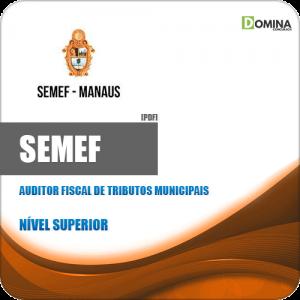 Apostila SEMEF 2019 Auditor Fiscal de Tributos Municipais