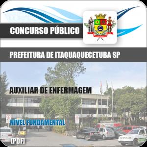 Apostila Pref Itaquaquecetuba SP 2019 Auxiliar de Enfermagem