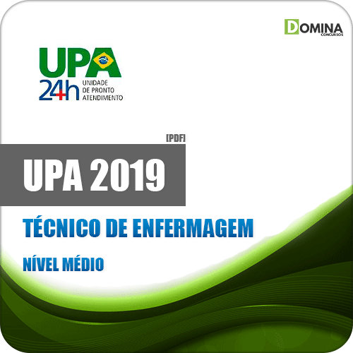 Apostila Concurso UPA RJ 2019 Técnico de Enfermagem