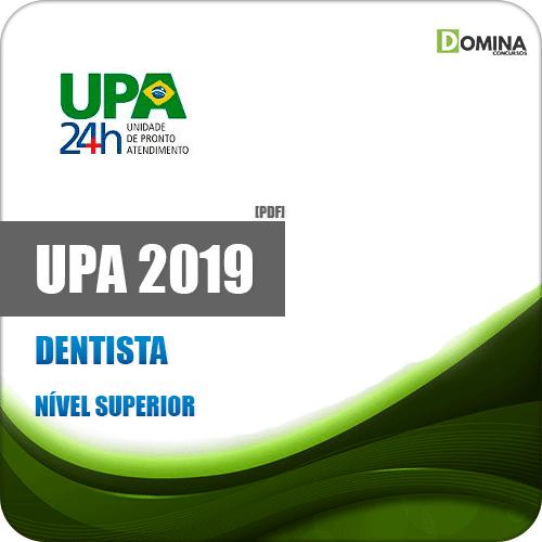 Apostila Concurso UPA RJ 2019 Dentista Atualizada