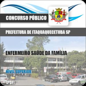 Apostila Itaquaquecetuba SP 2019 Enfermeiro Saúde Família