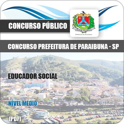 Apostila Concurso Prefeitura Paraibuna SP Educador Social