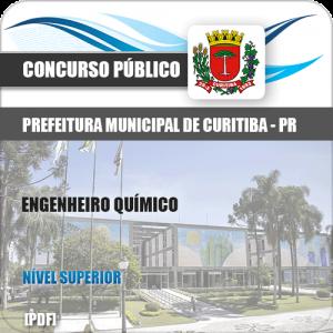 Apostila Prefeitura Curitiba PR 2019 Engenheiro Químico