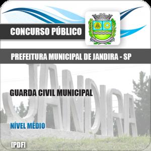 Apostila Prefeitura de Jandira SP 2019 Guarda Civil Municipal