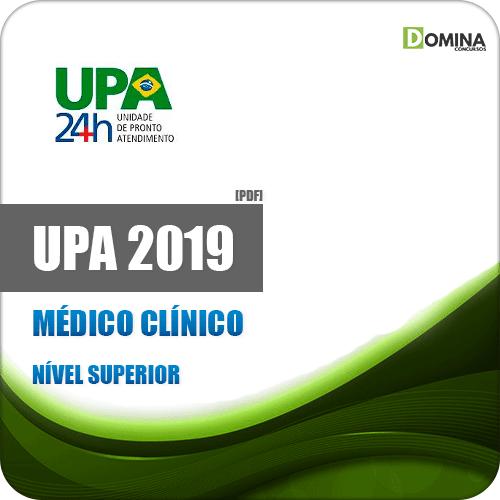 Apostila Concurso UPA RJ 2019 Médico Clínico