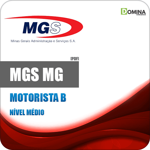 Apostila Concurso MGS MG 2019 Motorista B