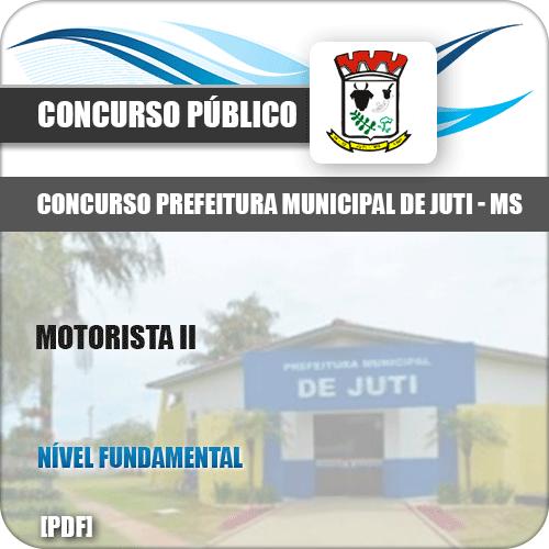 Apostila Concurso Prefeitura Juti MS 2019 Motorista II