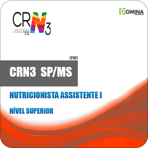 Apostila CRN 3 SP MS 2019 Nutricionista Assistente I