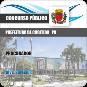 Apostila Concurso Prefeitura Curitiba PR 2019 Procurador
