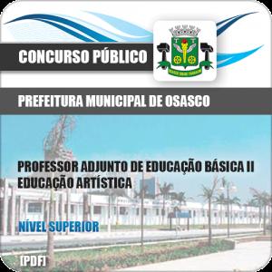 Apostila Pref Osasco SP 2019 Professor Educação Artística