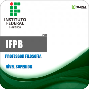 Apostila Concurso IFPB 2019 Professor de Filosofia