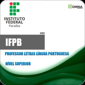 Apostila IFPB 2019 Professor Letras Língua Portuguesa