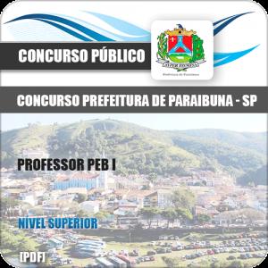 Apostila Concurso Prefeitura Paraibuna SP Professor PEB I