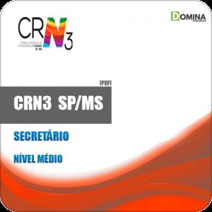 Apostila Concurso CRN 3 SP MS 2019 Secretário
