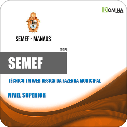 Apostila Concurso SEMEF 2019 Técnico em Web Design