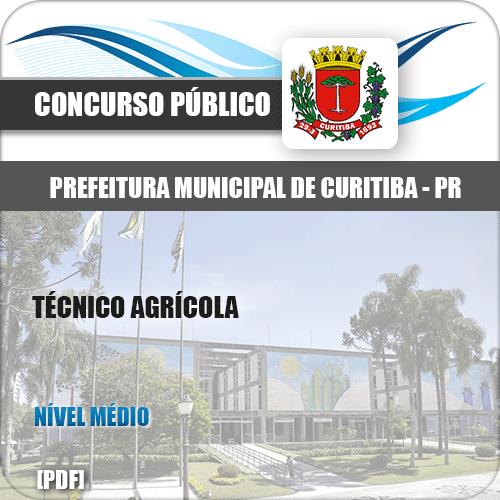 Apostila Prefeitura Curitiba PR 2019 Técnico Agrícola