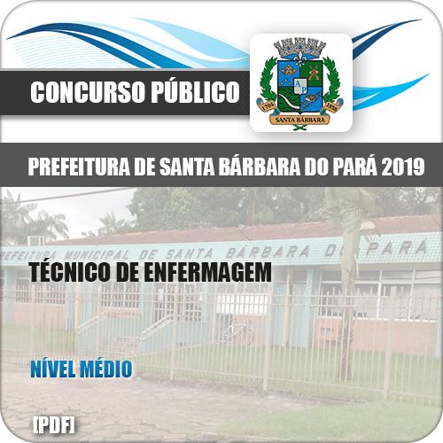 Apostila Santa Barbara do Pará PA 2019 Técnico em Enfermagem