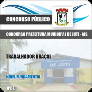 Apostila Concurso Prefeitura Juti MS 2019 Trabalhador Braçal