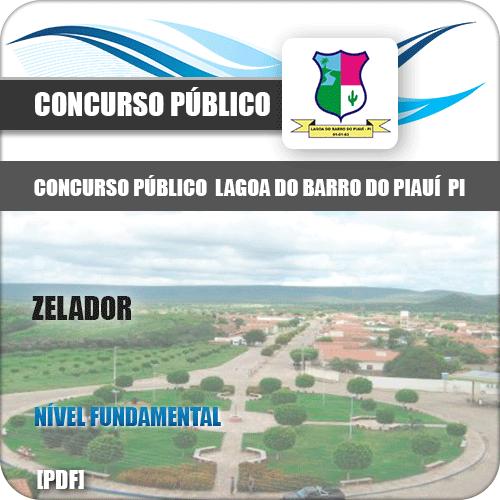 Apostila Concurso Lagoa do Barro do Piauí PI 2019 Zelador