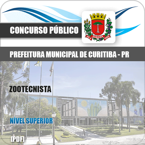 Apostila Concurso Prefeitura Curitiba PR 2019 Zootecnista