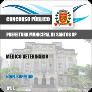 Apostila Prefeitura de Santos SP 2019 Médico Veterinário