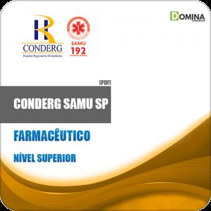 Apostila Concurso CONDERG SAMU SP 2019 Farmacêutico