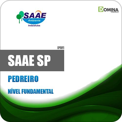 Apostila Concurso SAAE de Indaiatuba SP 2019 Pedreiro