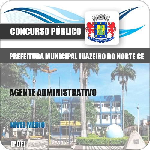 Apostila Pref Juazeiro do Norte CE 2019 Agente Administrativo
