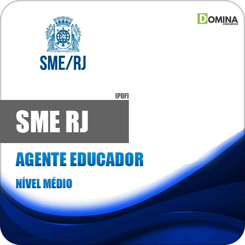 Apostila Concurso SME RJ 2019 Agente Educador
