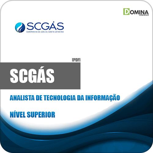 Apostila Concurso SCGás 2019 Analista de Tecnologia da Informação